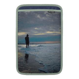 Seaside Ponder MacBook Sleeves