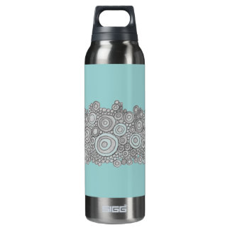 Seaside Poppy Liberty Bottle 16 Oz Insulated SIGG Thermos Water Bottle