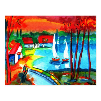 Seaside Postcard