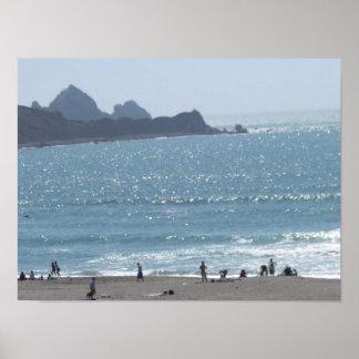 Seaside Poster