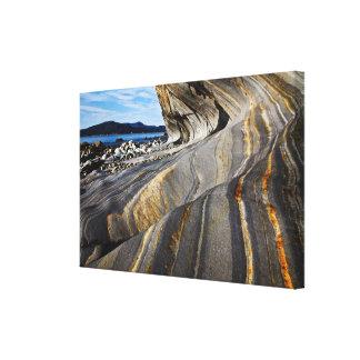 Seaside Rock Canvas Print