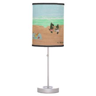 SEASIDE SCOTTIES TABLE LAMP