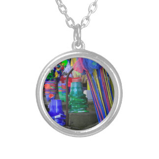 Seaside Silver Plated Necklace