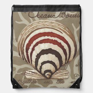 Seaside Sonnet II Drawstring Bag