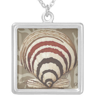 Seaside Sonnet II Silver Plated Necklace