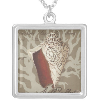 Seaside Sonnet IV Silver Plated Necklace