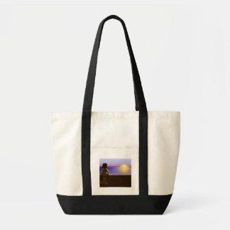 Seaside sunset bag