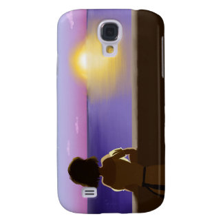 Seaside sunset galaxy s4 covers