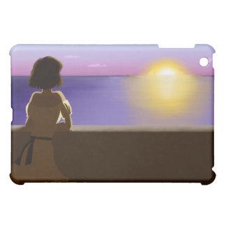 Seaside sunset iPad mini case