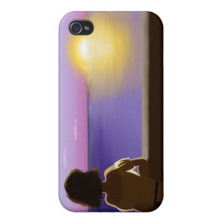 Seaside sunset iPhone 4/4S covers