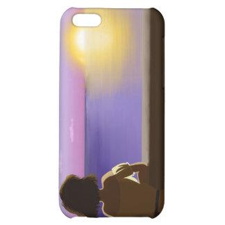 Seaside sunset iPhone 5C covers