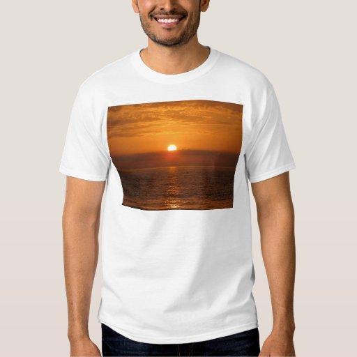 Seaside Sunset Reflection T-Shirt