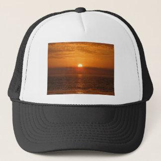 Seaside Sunset Reflection Trucker Hat
