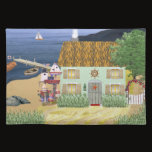 Seaside Thatched Cottage Placemat