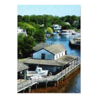 Seaside Town Card
