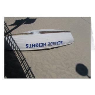 Seaside Upside Down 1 Greeting Cards