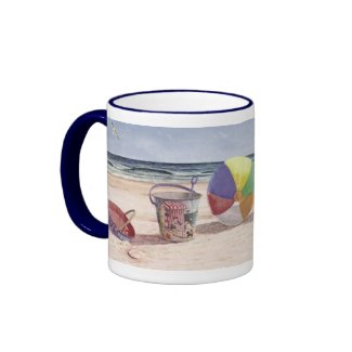 seaside vacation mug mug