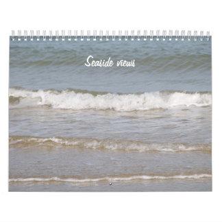 Seaside views - calendar