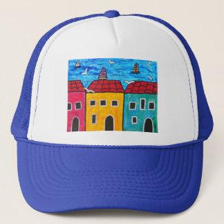 Seaside Villa #3 Trucker Hat
