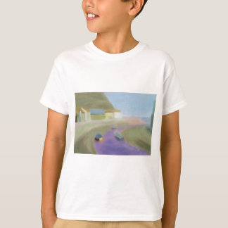 Seaside Village Boats, T-shirt/Shirt T-Shirt