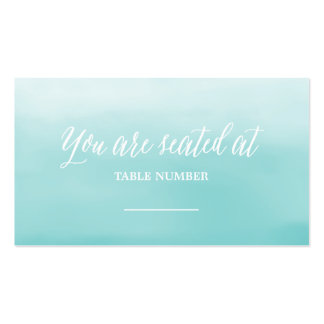Seaside | Wedding Place Cards Business Card
