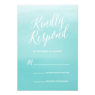 Seaside | Wedding Response Card