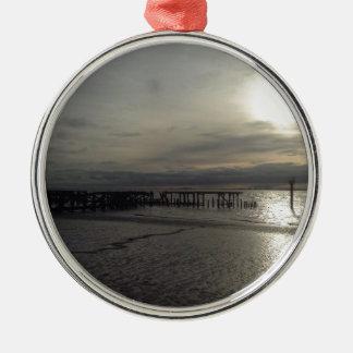 Seaside Yorkshire Metal Ornament