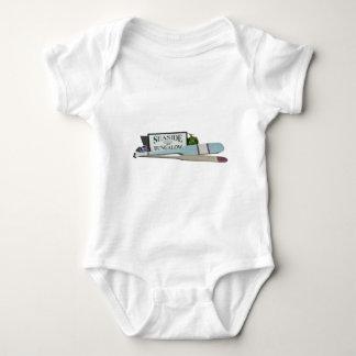 SeasideBungalowOarsFloats032413.png Baby Bodysuit