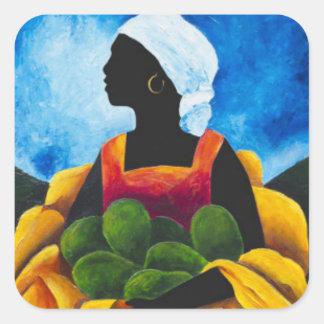 Season Avocado 2011 Square Sticker