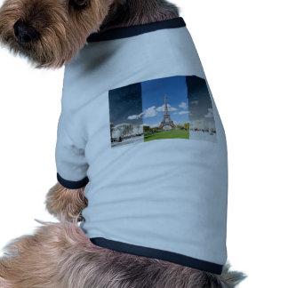Season change in Paris Dog T Shirt
