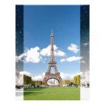 Season change in Paris Letterhead
