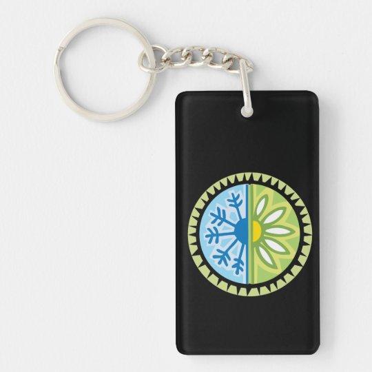 Season Changes Keychain