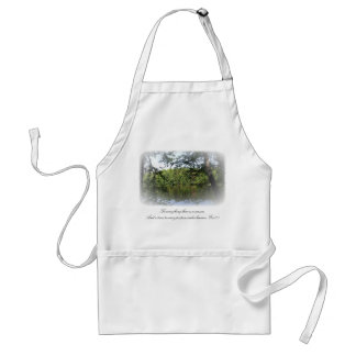 Season Ecclesiastes Lake Forest Crafts Cook Chef Adult Apron