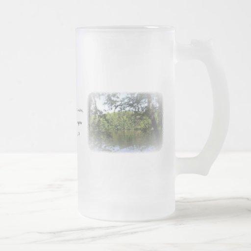 Season Ecclesiastes Lake Forest Drinks Glass Coffee Mug