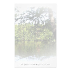 Season Ecclesiastes Lake Forest Writing Paper at Zazzle