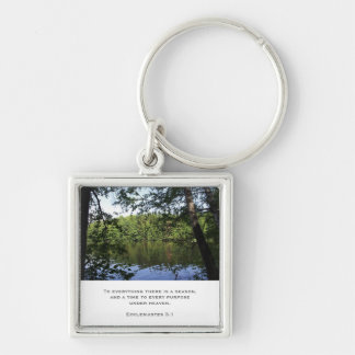 Season Ecclesiastes Luggage & Laptop Tag Keychain