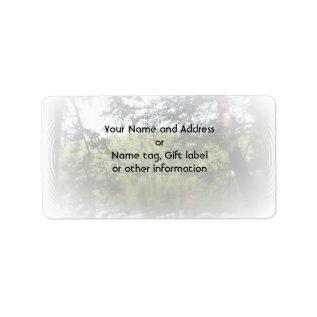 Season Ecclesiastes Name Gift Tag Bookplate at Zazzle