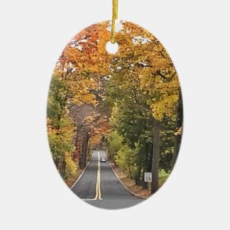 Season - Fall.jpg Ceramic Ornament