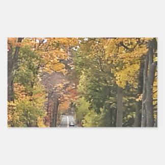 Season - Fall.jpg Rectangular Sticker