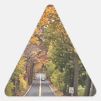 Season - Fall.jpg Triangle Sticker