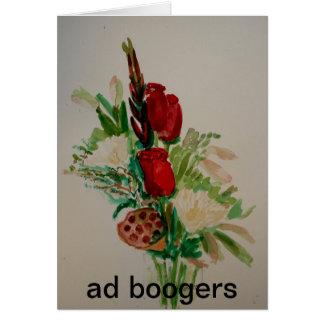 season flowers card