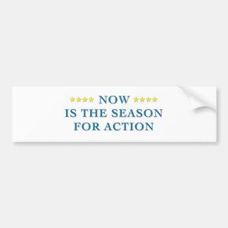Season For Action Bumper Sticker Car Bumper Sticker