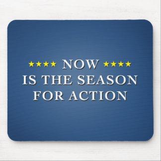 Season For Action Dark Mousepad
