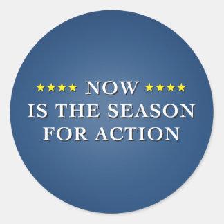Season For Action Dark Sticker