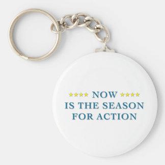 Season For Action Keychain