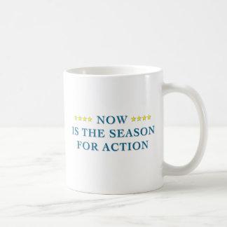 Season For Action Mug
