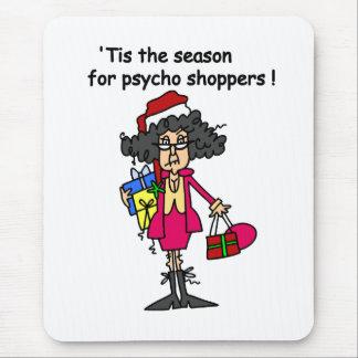 Season For Psycho Shoppers Mousepads