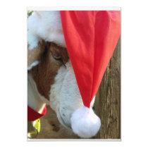 """Season Goat-ings!"" A Holiday Greeting Card"