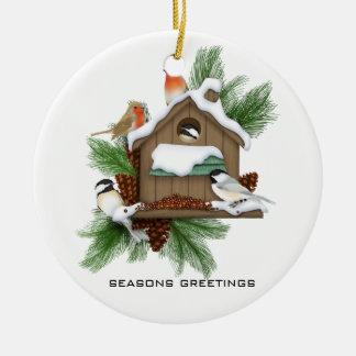 Season Greetings Ornaments