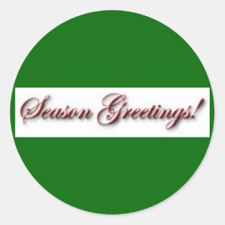 Season Greetings Sticker